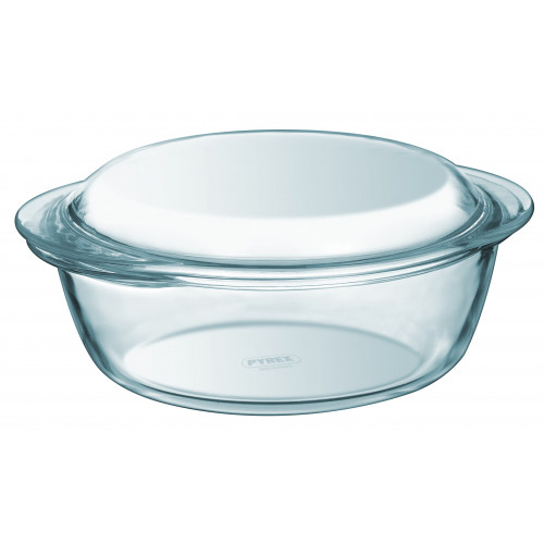 Glass Casserole Dish Round