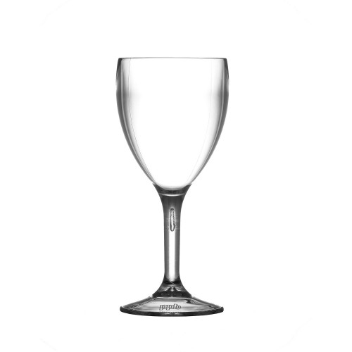 Elite Premium Plastic Wine Glasses (Box of 12)