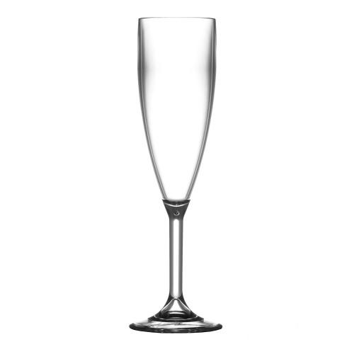 Elite Plastic Champagne Flutes (Box of 12)