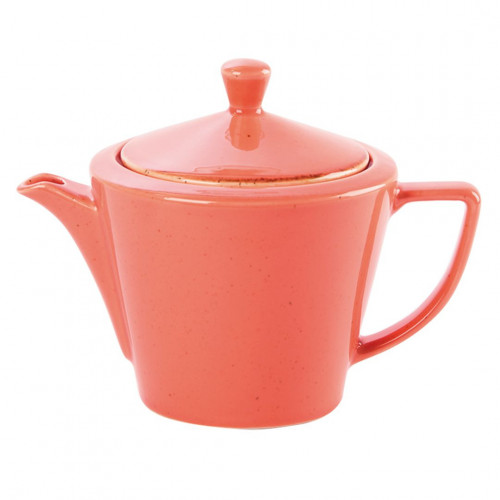 Seasons Conic Teapots - Coral (Box of 6)