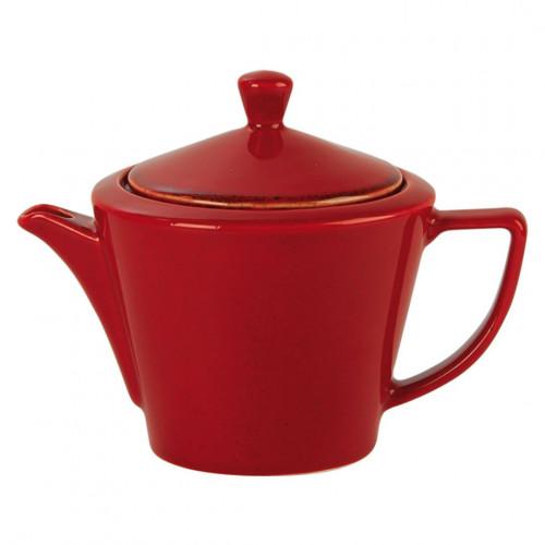 Seasons Conic Teapots - Magma (Box of 6)