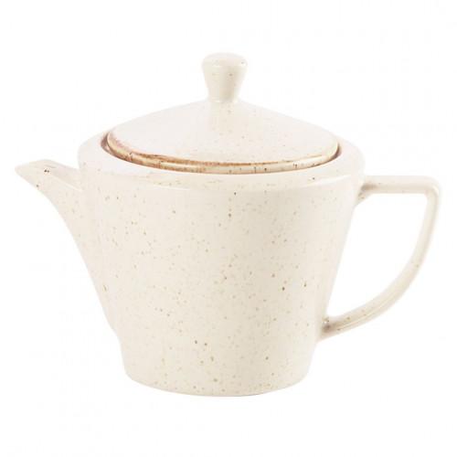 Seasons Conic Teapots - Oatmeal (Box of 6)