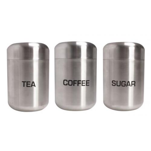 Tea/Coffee/Sugar Canister Set