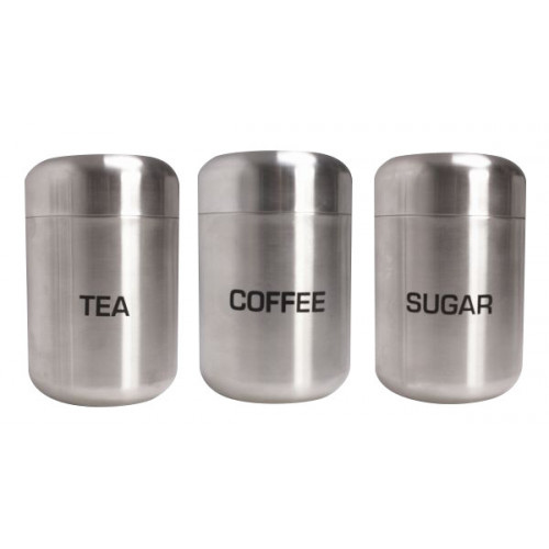 Tea/Coffee/Sugar Canister Set