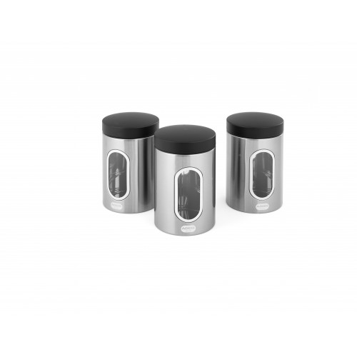 Addis Stainless Steel Canister - Set of 3