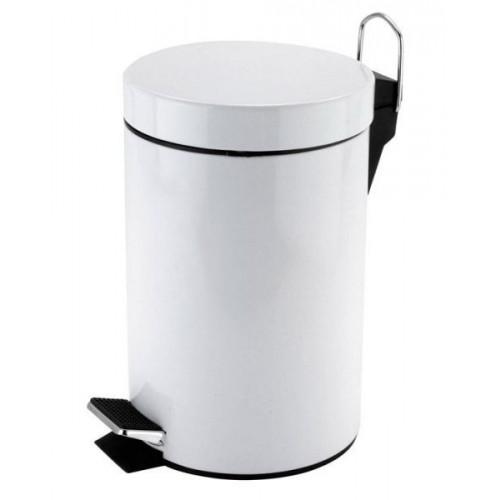 Pedal Bin 3 Litre - White