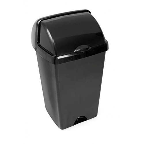 Addis 48 Litre Roll Top Bin - Black (Box of 3)