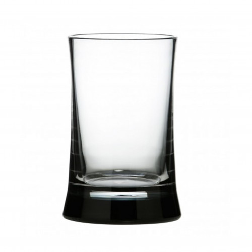 Clear & Black Toothbrush Holder