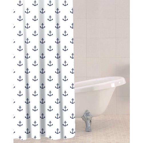 Sabichi Shower Curtain - Anchor