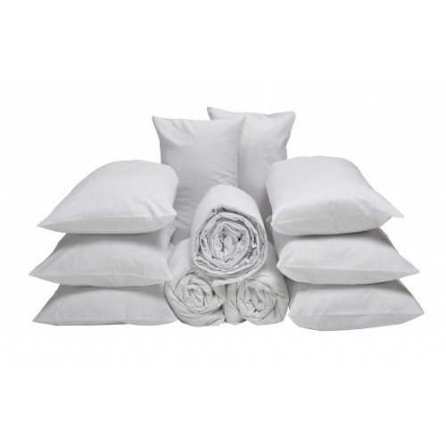1 Bed Display Bedding Pack with Spectrum Linen