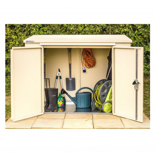 Safestor Shed in Cream