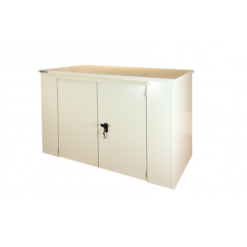 Safestor Shed 6ft x 3ft in Light Ivory