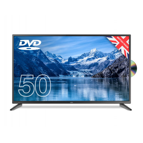 "Cello 50"" Led TV with DVD"
