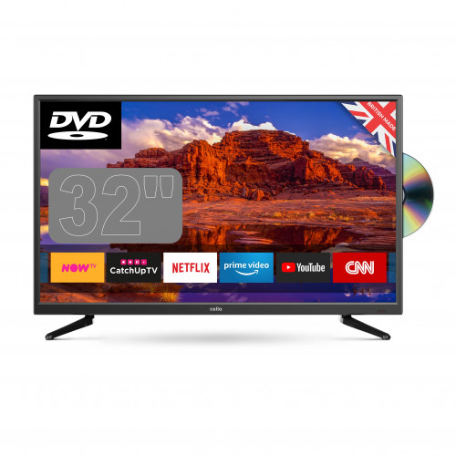 Cello Super Fast Smart TV with DVD Player