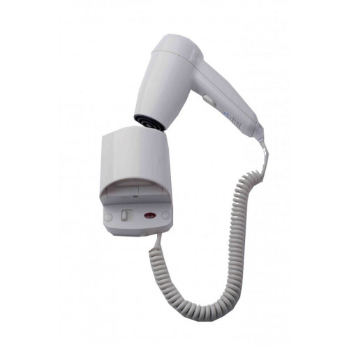 Hospitality Hairdryer with Wall Bracket