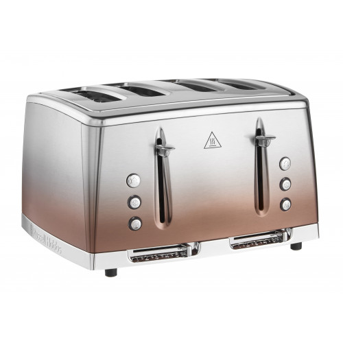 Russell Hobbs Eclipse 4 Slice Toaster - Copper