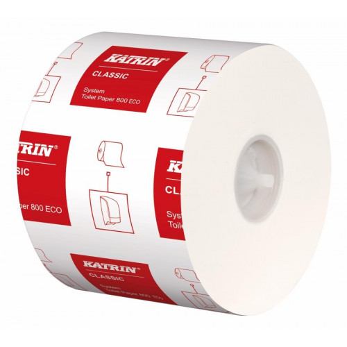 Katrin Classic Eco System 800 Toilet Rolls (Pack of 36)