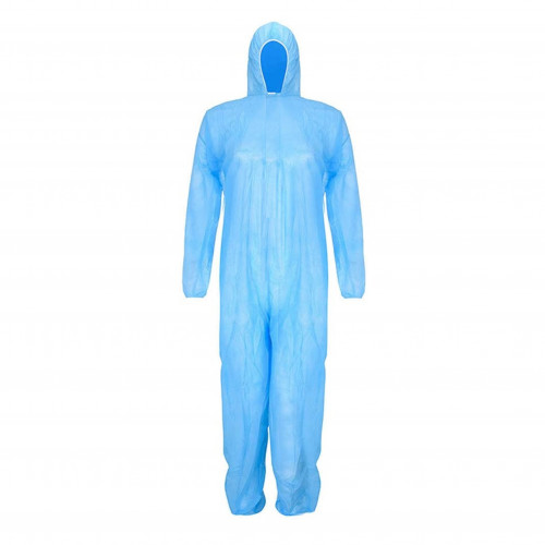 Blue Full Body Coverall (Box of 50) - One Size