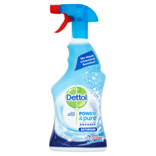 Dettol Power and Pure Advance Bathroom (Box of 6)