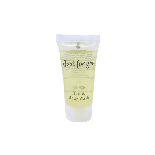 Just For You Bath and Shower Gel Tube (Box of 500)