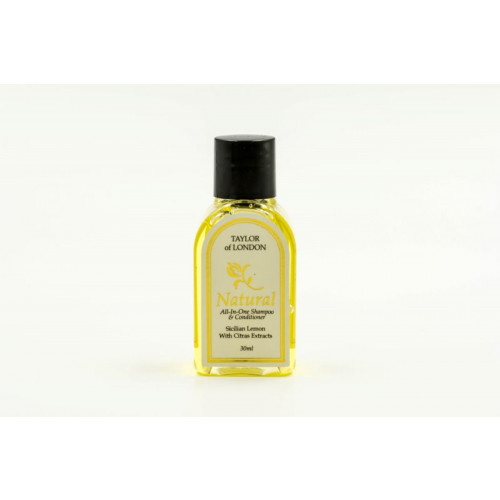 Taylor of London Shampoo and Conditioner Bottle 30ml (Box of 400)