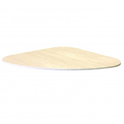 Teardrop Table Top - Light Swiss Elm