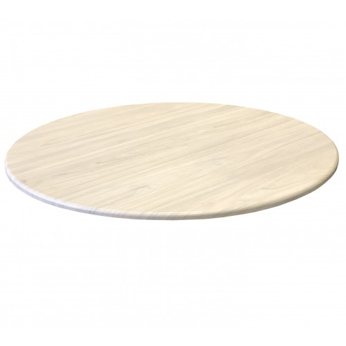 Round Table Top - Light Swiss Elm