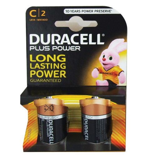 C Batteries (Box of 2)