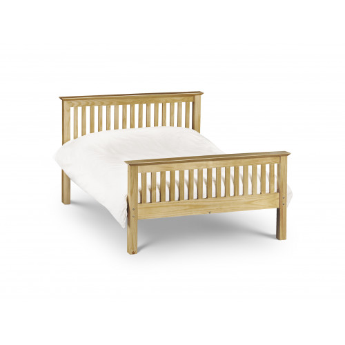 Barcelona High Foot End Bed in Pine