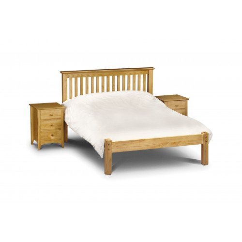 Barcelona Low Foot End Bed - Pine
