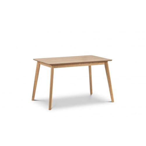 Boden Oak Veneer Rectangular Table