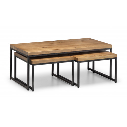 Brooklyn Oak Nesting Coffee Tables