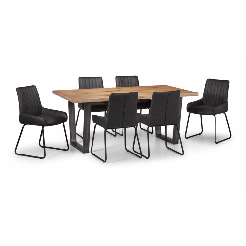 Brooklyn Table and 6 Soho Chairs