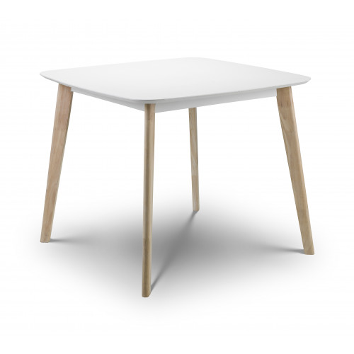 Casa Oak and White Dining Table