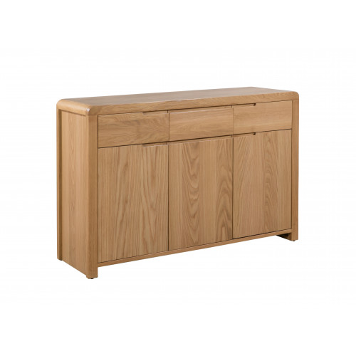 Curve Oak Sideboard