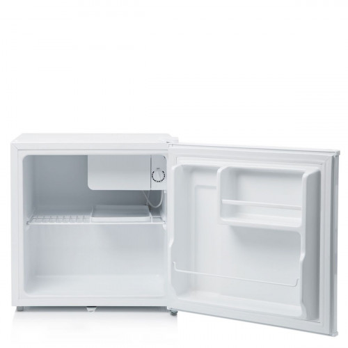 Haden White Freestanding Table Top Compact Fridge with Lock