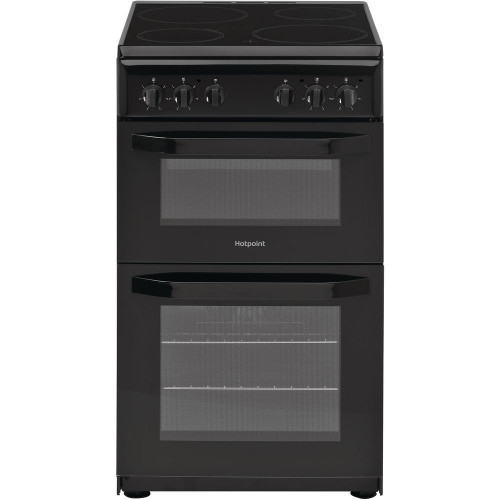 Hotpoint Black Freestanding Electric Cooker