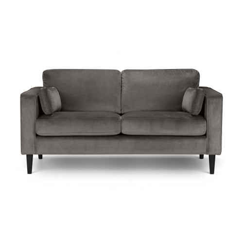 Hayward Grey Velvet 2 Seater Sofa