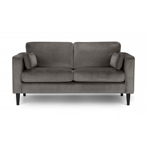 Hayward Grey Velvet 2 Seater Sofa