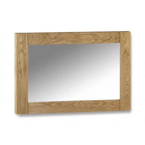 Astoria Solid Oak Wall Mirror