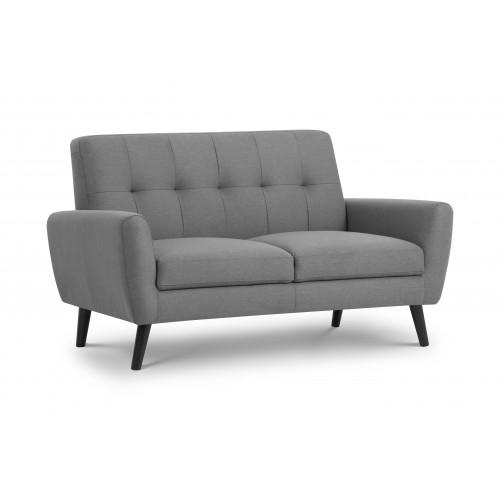 Monza Compact Retro 2 Seater Sofa