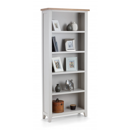 Richmond Tall Bookcase - Grey